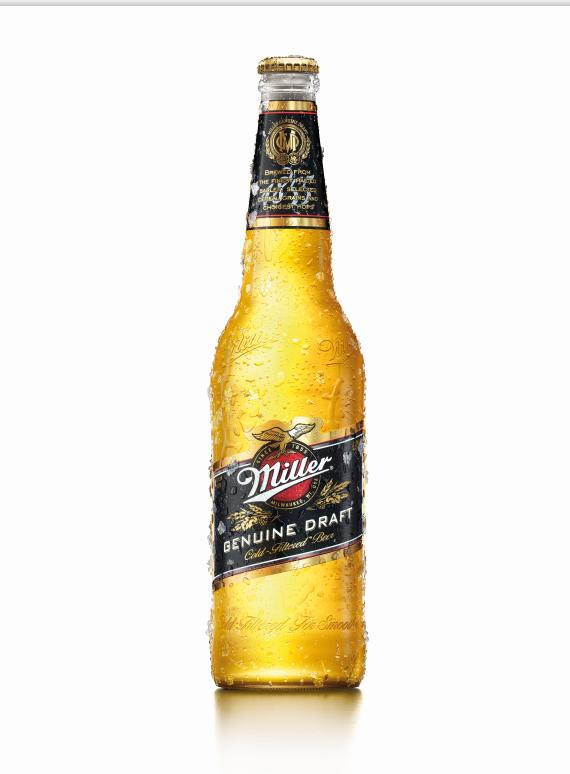 Cerveja Miller Genuine Draft Garrafa 600ml