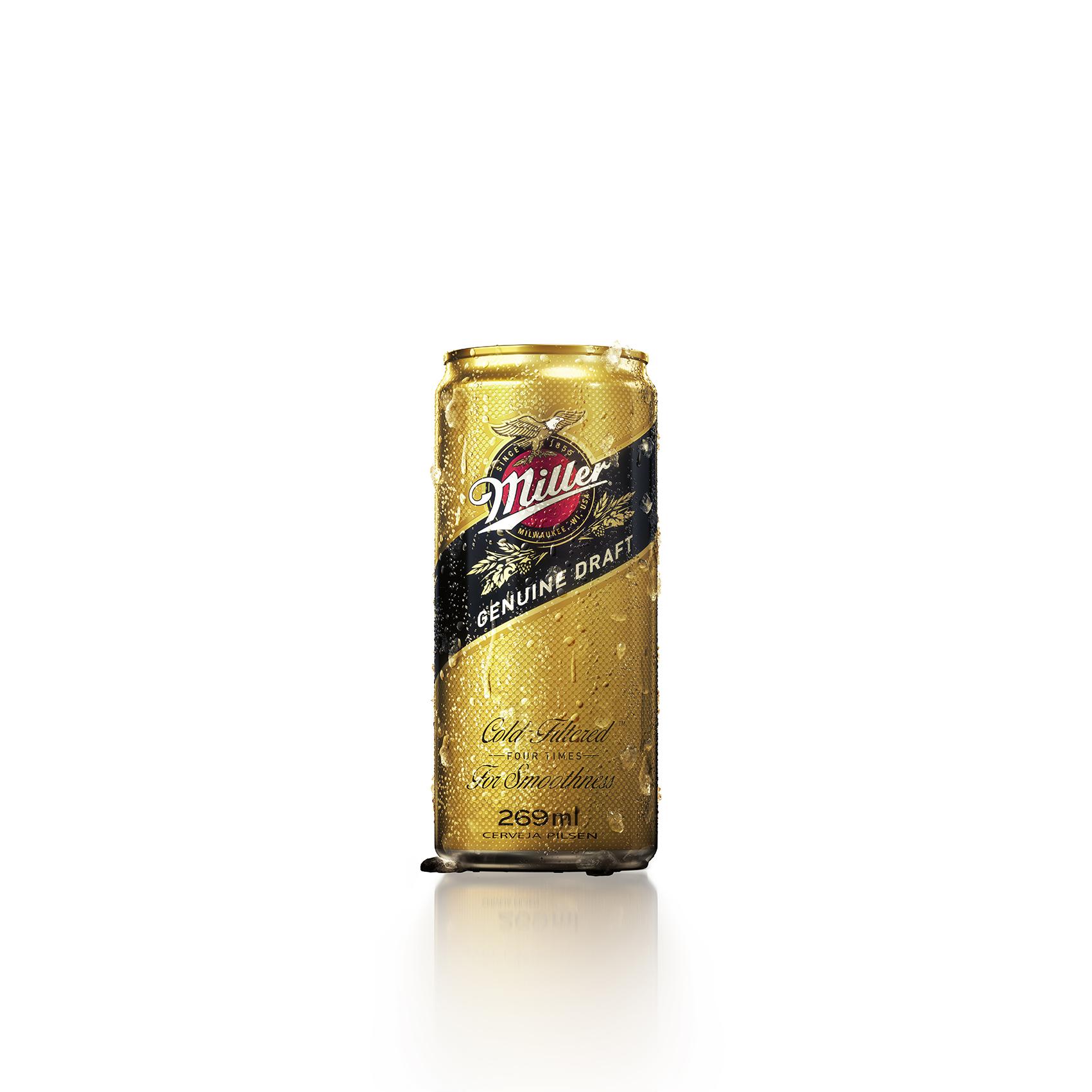 Cerveja Miller Genuine Draft Lata 269ml