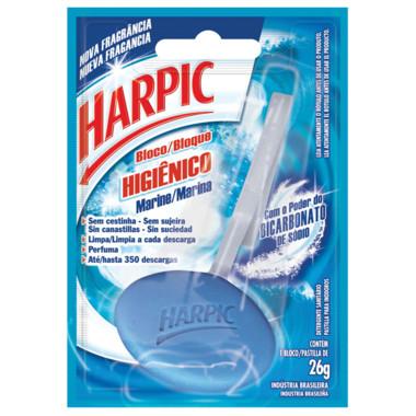 Bloco Higiênico Harpic Marine 26g