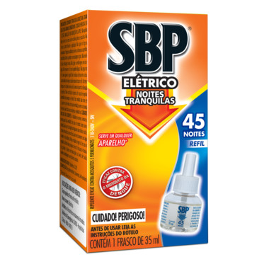 Repelente Elétrico SBP - Refil Líquido 35ml