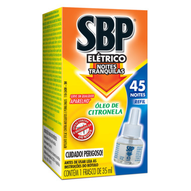 Repelente Elétrico SPB - Refil Óleo de Citronela 35ml