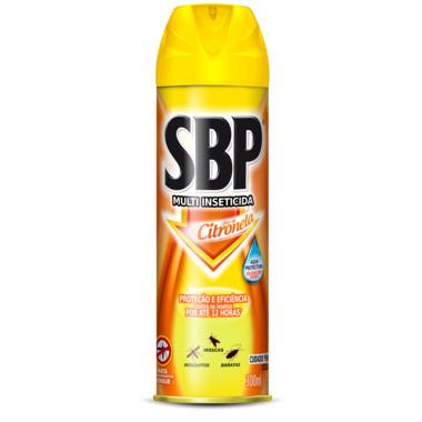 Inseticida SBP Óleo de Citronela Aerossol 300ml