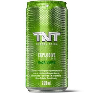 Energético TNT Sabor Maçã Verde Lata 269ml