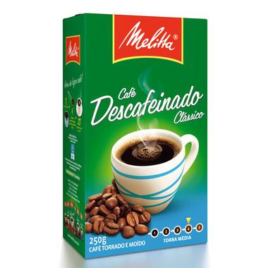 Café Melitta Descafeinado Clássico 250g