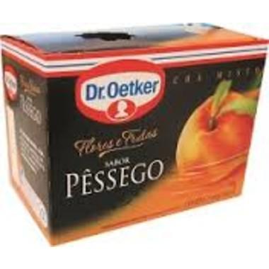 Chá Dr. Oetker Flores e Frutas Sabor Pêssego c/15 saquinhos 30g