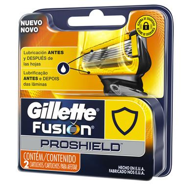 Carga para Aparelho de Barbear Gillette Fusion ProShield c/2