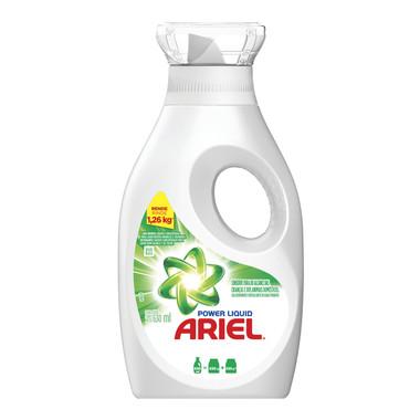 Sabão Líquido Ariel Power Liquid 630ml