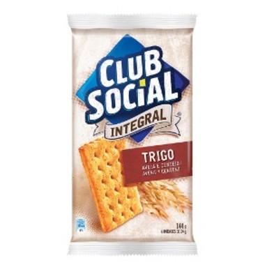 Biscoito Salgado Club Social Integral Aveia e Trigo 144g