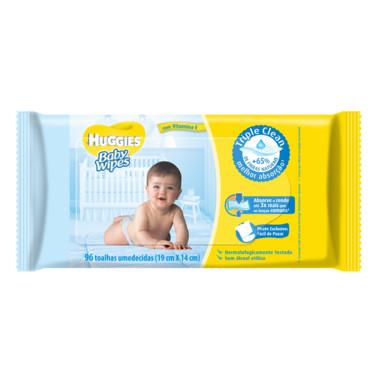Lenço Umedecido Huggies Baby Wipes c/96