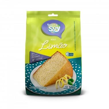 Mistura para Bolo SupraSoy Sabor Limão sem Glúten 0% Lactose 300g