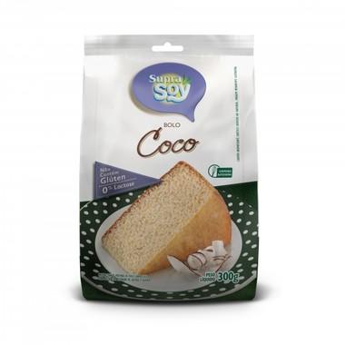 Mistura para Bolo SupraSoy Sabor Coco sem Glúten 0% Lactose 300g