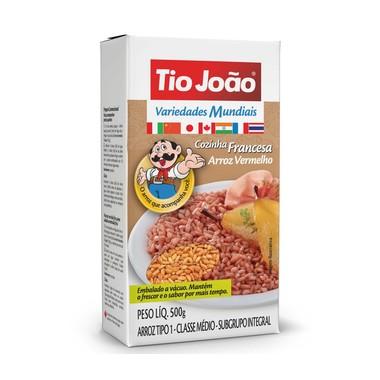 Arroz Vermelho Tio João Variedades Mundiais Vácuo 500g