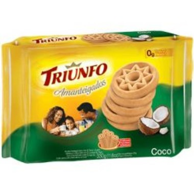 Biscoito Triunfo Amanteigados Coco 330g
