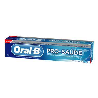 Creme Dental Oral-B Pro-Saúde Menta Fresca 70g
