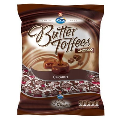 Balas Butter Toffees Chocolate 130g