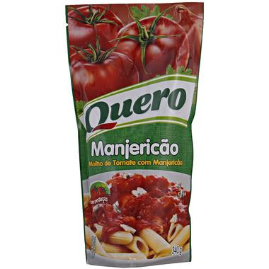 Molho de Tomate Quero Manjericão Sache 340g