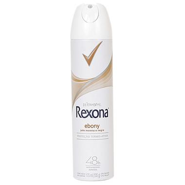 Desodorante Feminino Rexona Ebony Aerossol 150ml