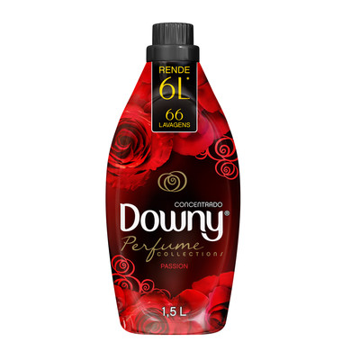 Amaciante Concentrado Downy Passion 1,5L