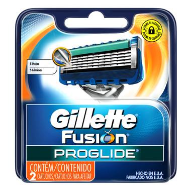 Carga para Aparelho de Barbear Gillette Fusion Proglide c/2