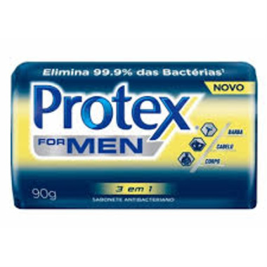 Sabonete Protex for Men em Barra Tripla Ação 90g