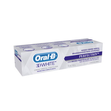 Creme Dental Oral-B 3D White Perfection 75g