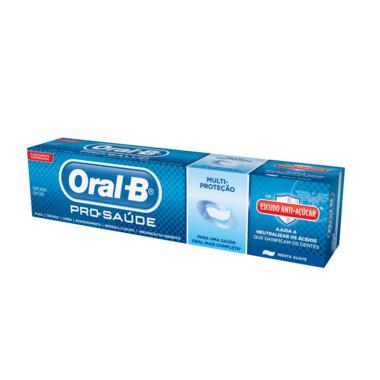 Creme Dental Oral-B Pro-Saúde Menta Suave 70g