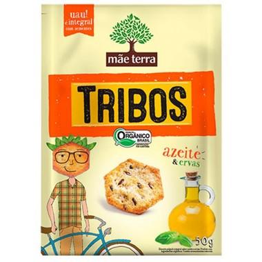 Snack Integral Mãe Terra Tribos Azeite & Ervas 50g