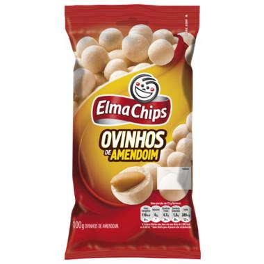 Salgadinho Elma Chips Ovinhos de Amendoim 100g