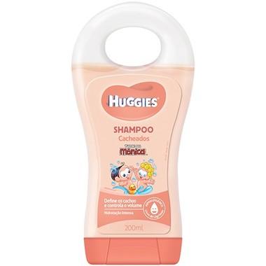 Shampoo Infantil Huggies Cacheados 200ml