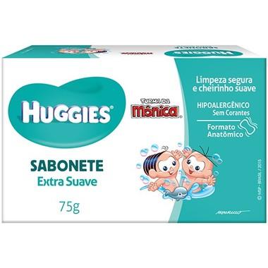 Sabonete Infantil Huggies Extra Suave 75g