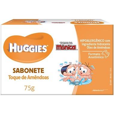 Sabonete Infantil Huggies Toque de Amêndoas 75g