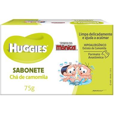 Sabonete Infantil Huggies Chá de Camomila 75g