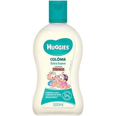 Colônia Infantil Huggies Extra Suave 100ml