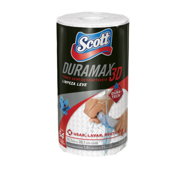 Panos Semi-Descartáveis Scott Duramax 3D c/64
