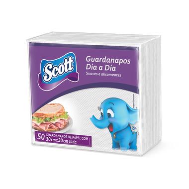 Guardanapo Scott 30cm x 30cm c/50