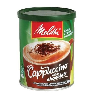 Cappuccino Melitta Sabor Chocolate 200g