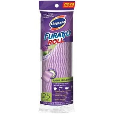 Pano Limppano Furatto Roll Multiuso Lavanda c/25