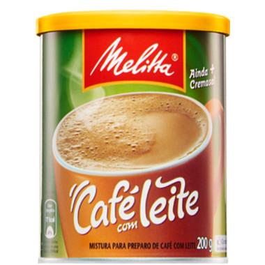Café com Leite Melitta lata 200g