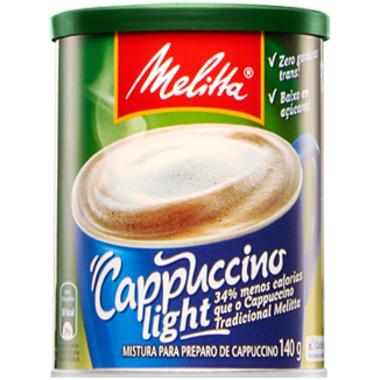 Cappuccino Melitta Light Lata 200g