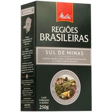 Café Melitta Regiões Brasileiras Sul de Minas 250g