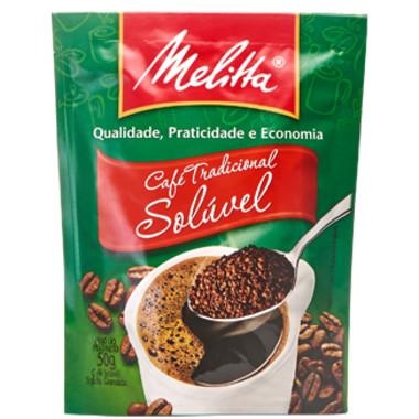 Café Melitta Tradicional Solúvel Sachê 50g