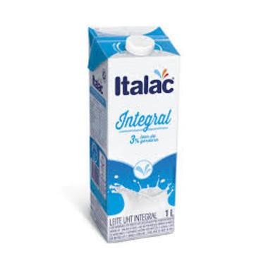 Leite UHT Italac Integral  com Tampa 1L
