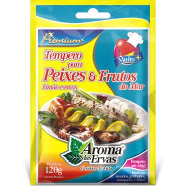 Tempero para Peixe e Frutos do Mar Aroma das Ervas 120g