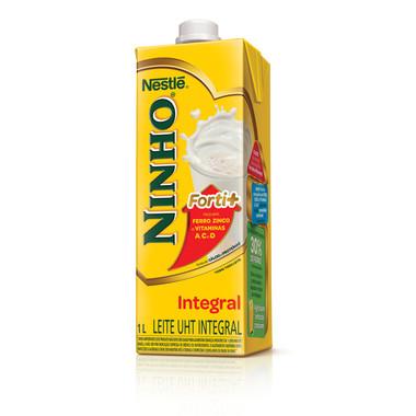 Leite UHT NINHO Forti+ Integral 1L