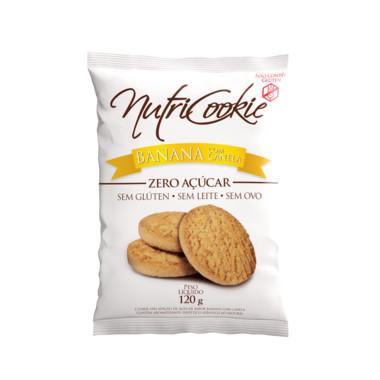 Cookie Nutricookie Banana com Canela sem Adição de Açucar 120g