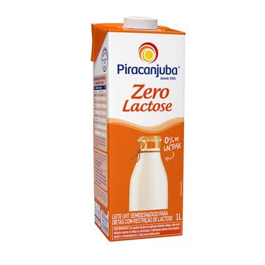 Leite UHT Piracanjuba Semidesnatado Zero Lactose com Tampa 1L