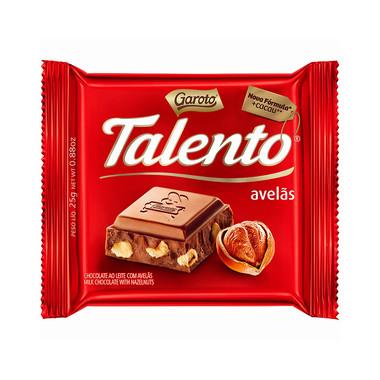 Chocolate ao Leite Talento com Avelã 90g