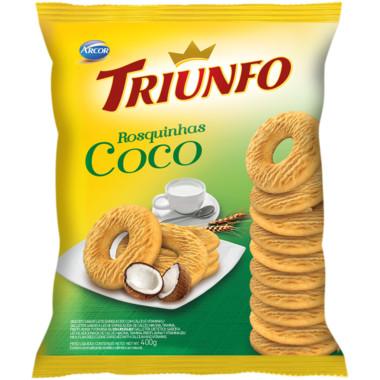 Rosquinha Triunfo Coco 400g