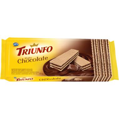Biscoito Triunfo Wafer Chocolate 115g