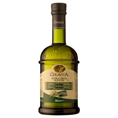 Azeite de Oliva Colavita Mediterrâneo Extra Virgem 500ml